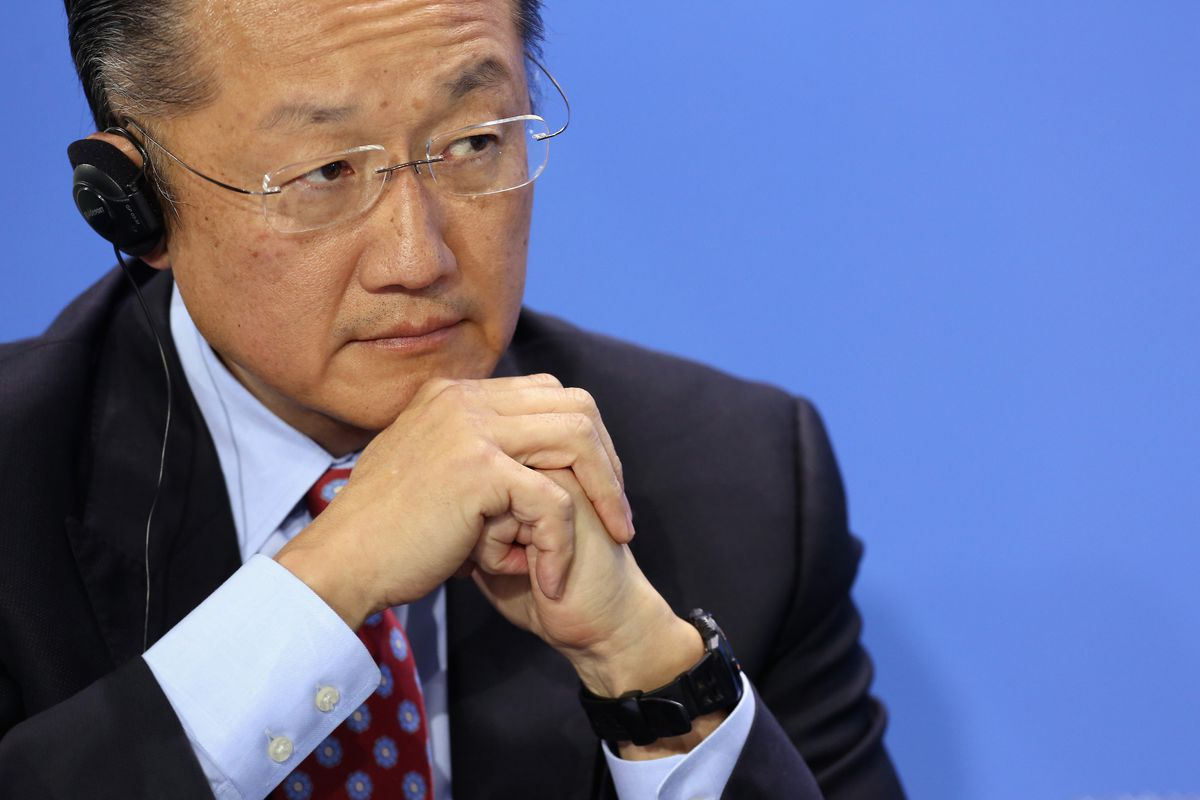 World Bank president Jim Yong Kim. The bank aggregates nation-level economic indicators, which Jerven argues can give a misleading picture.