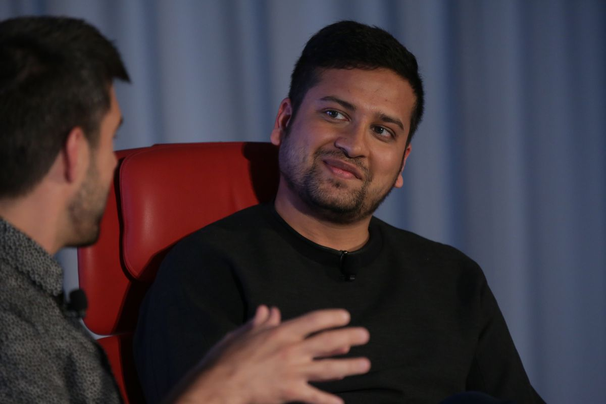 Binny Bansal at Code Commerce