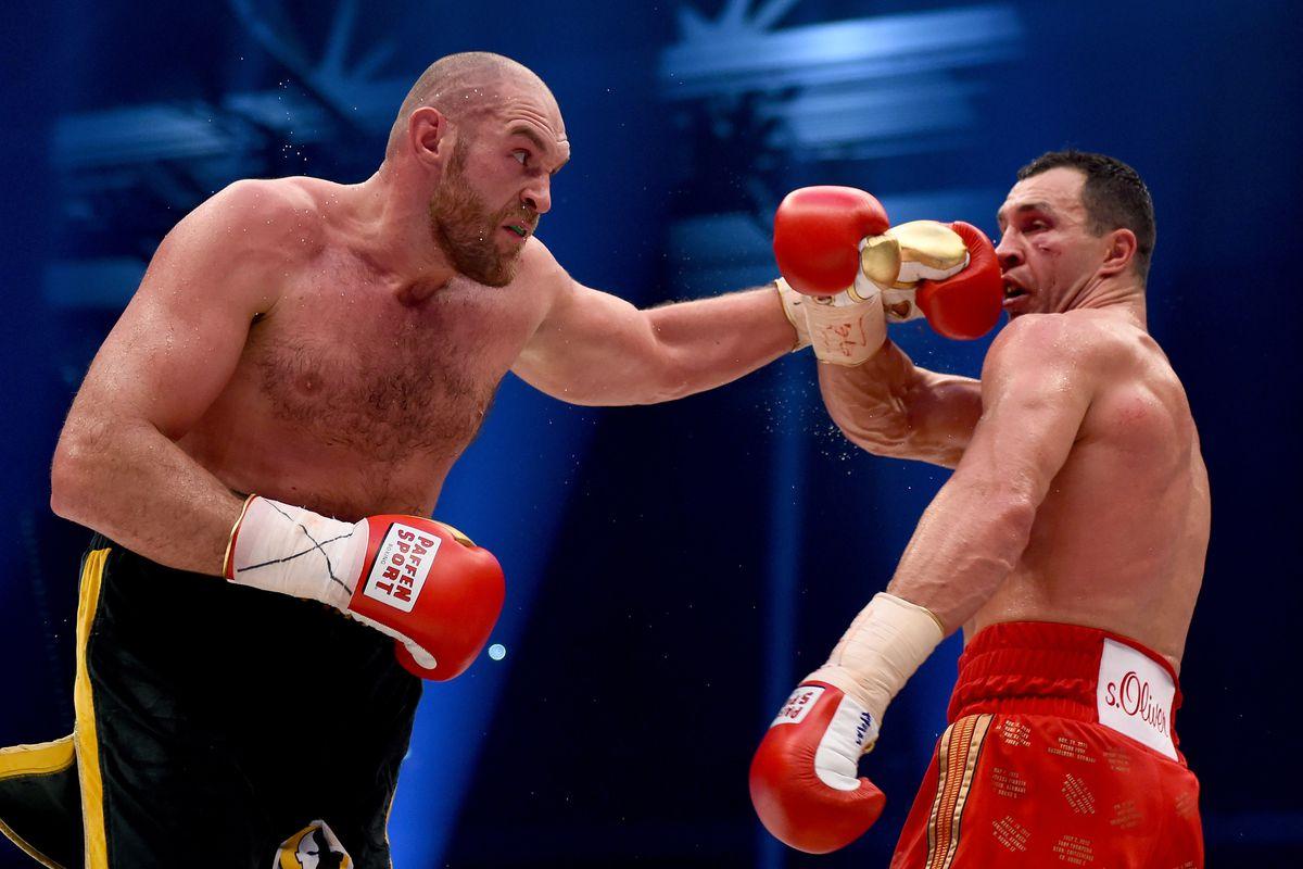Klitschko V Fury Odds