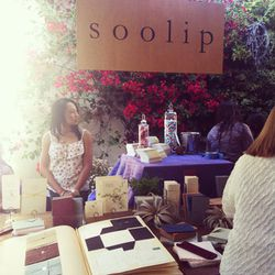 The Soolip stationary station offered tons of wedding invitation inspiration.