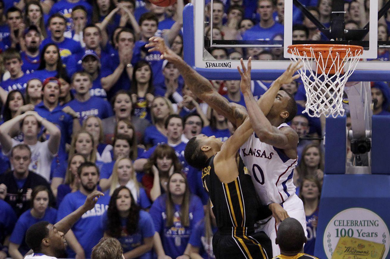 Missouri at Kansas men's basketball