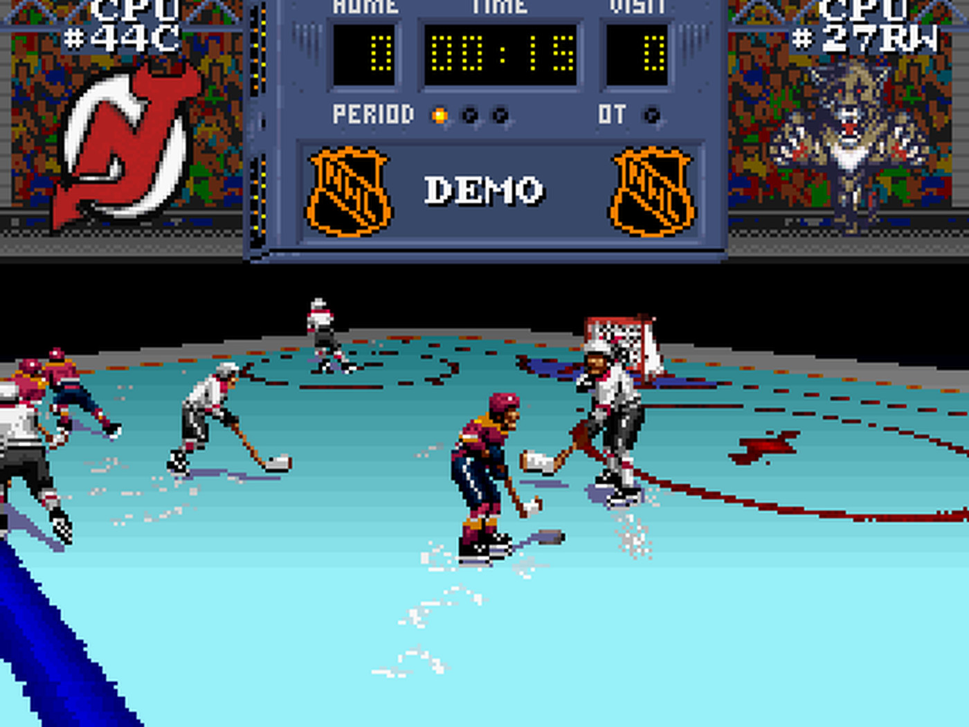 Hockey Video Game Memories Nhl Stanley Cup Snes 1993 All About The Jersey