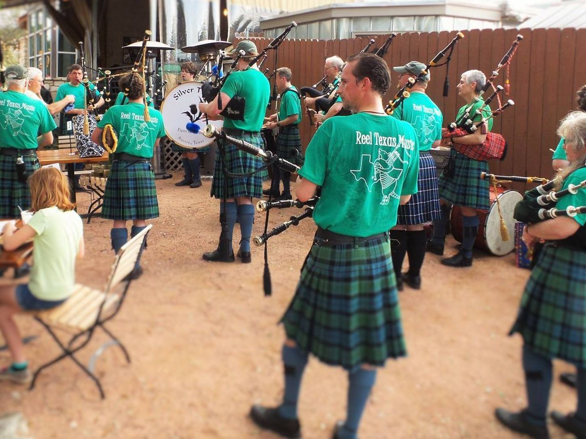 A St. Patrick's Day band at North by Northwest