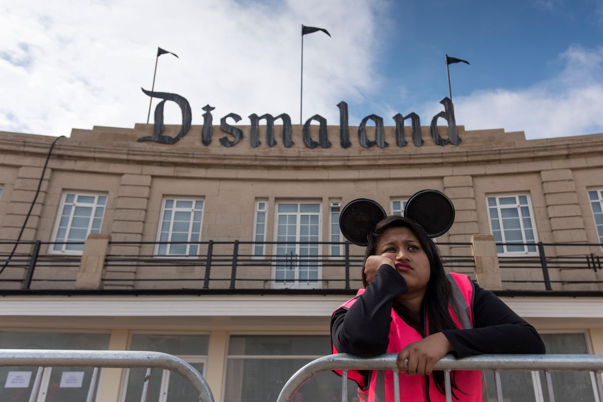 Dismaland is open for business.