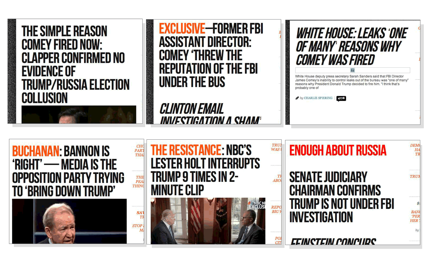 We tracked the Trump scandals on right-wing news sites  Here's how