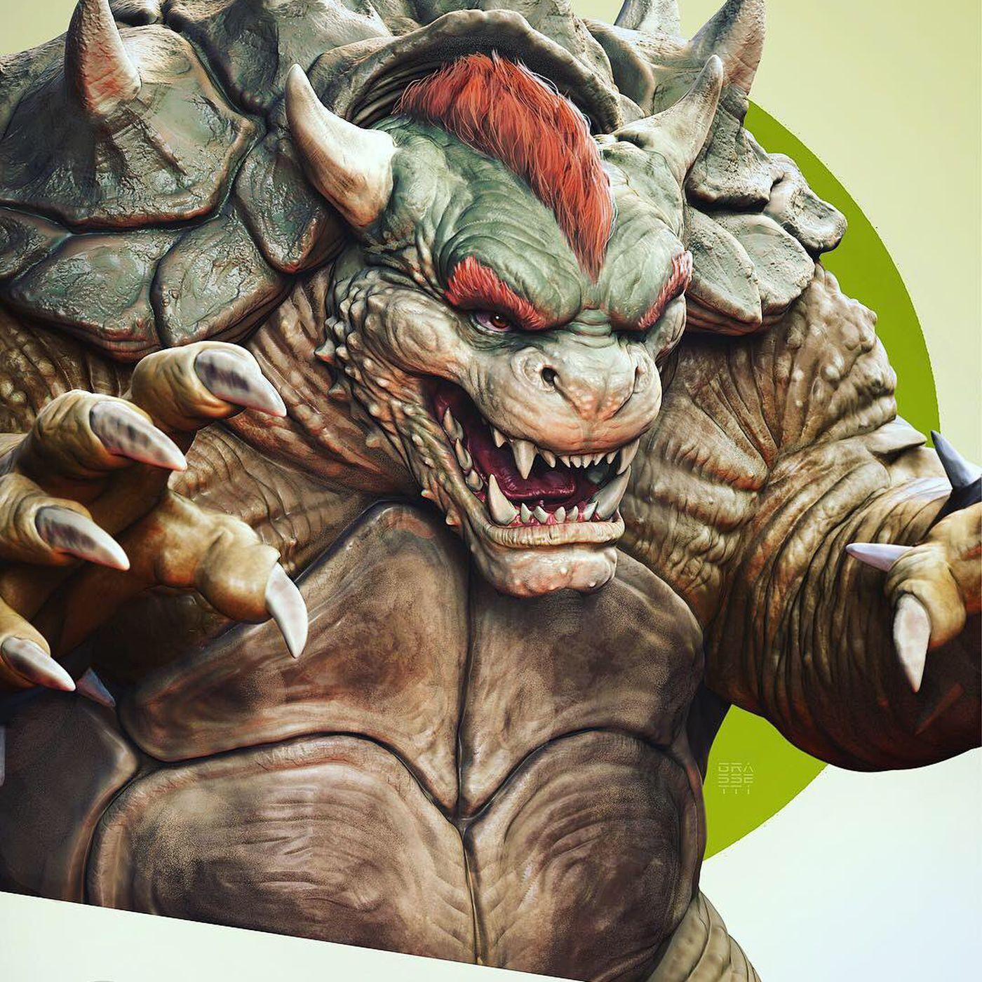God of War artist's Super Smash Bros  fan art is beautiful and