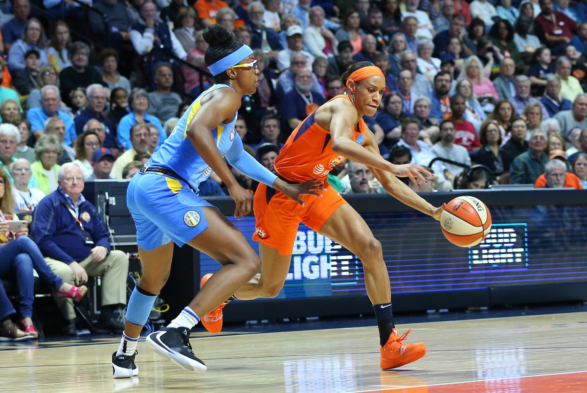 WNBA: SEP 06 Chicago Sky at Connecticut Sun
