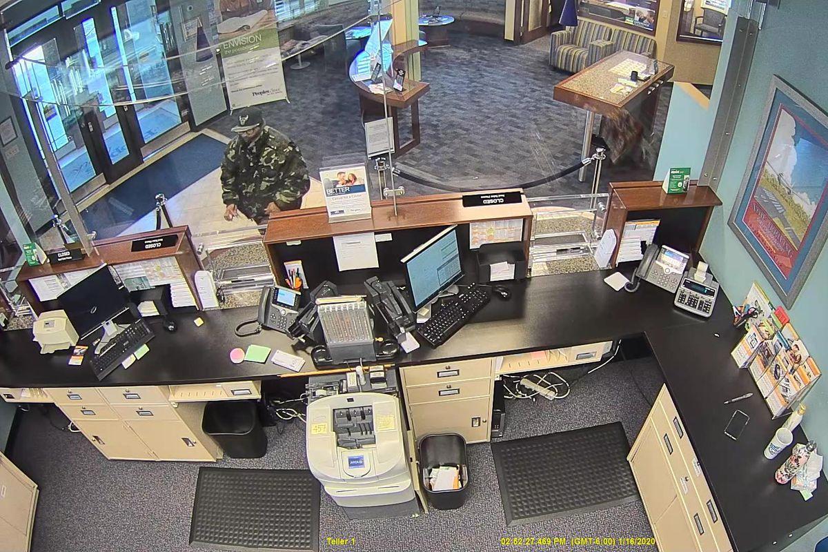 Gary police seek bank robbery suspect