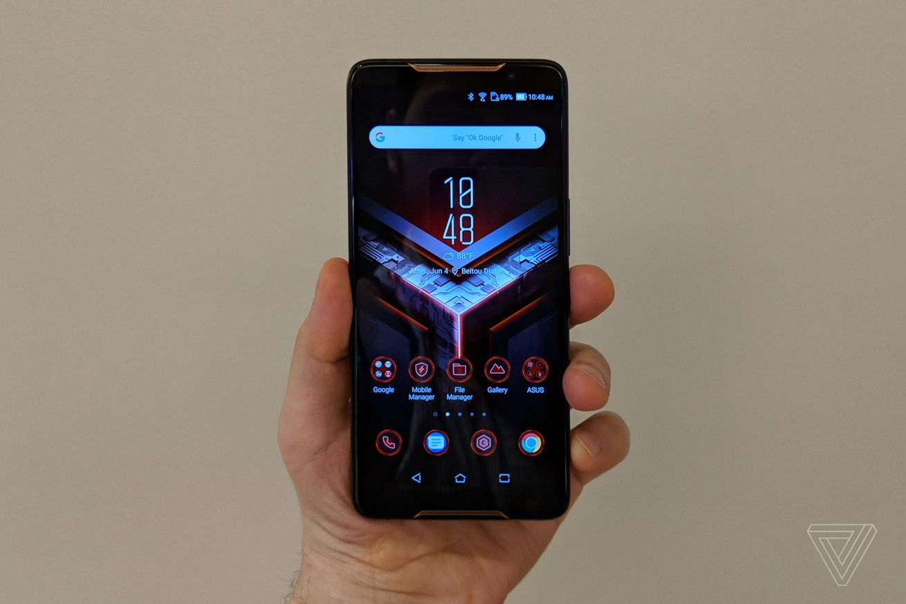 asus gaming phone will be available to preorder in the us on october 18th