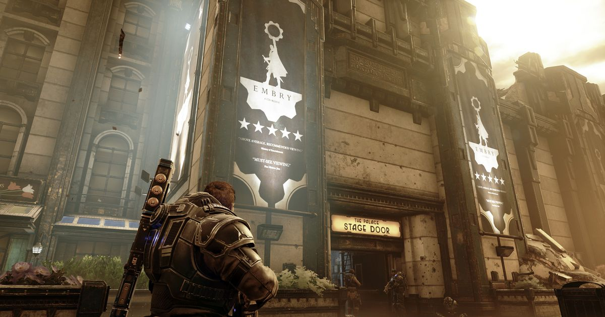 Gears 5 Act 1 – Chapter 4: The Tide Turns collectibles guide