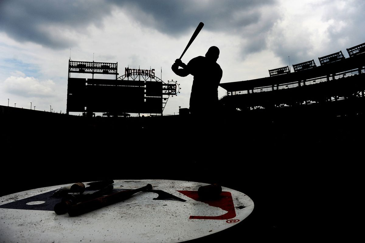 Nationals Park in Washington, D.C. on June 19, 2011 before a game against the Baltimore Orioles. (Photo by Patrick Smith/Getty Images)