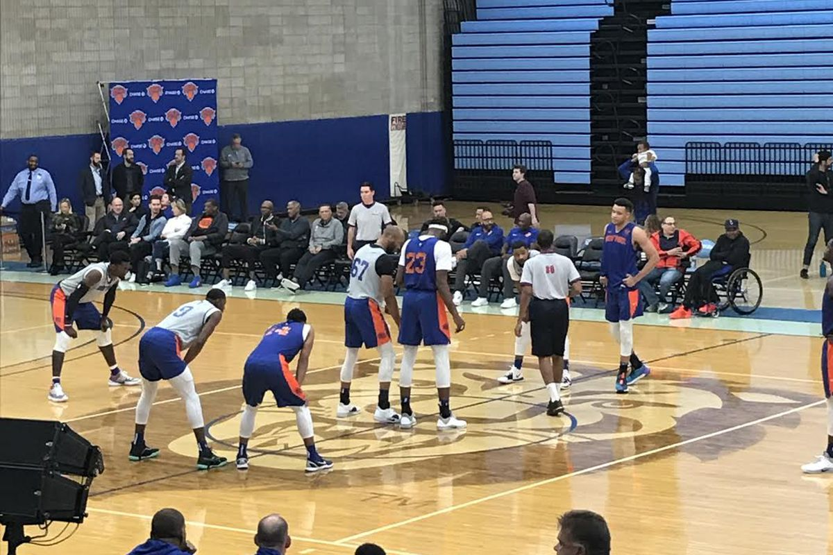 10 observations from the Knicks' open practice at Columbia University
