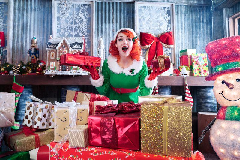 Santa —The Experience streams Dec. 1-24.