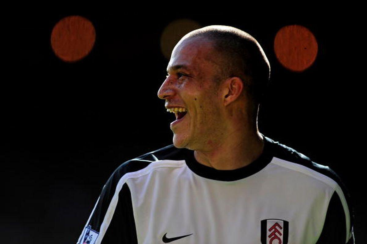 Fulham vs. Liverpool Photo of Bobby Zamora via Getty Images