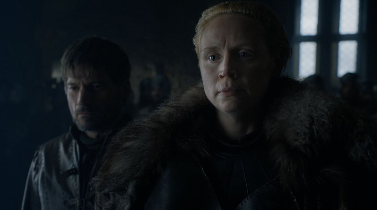 Game of Thrones S08E02 Brienne vouches for Jaime