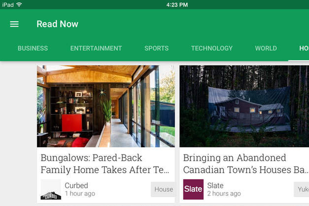 Google's Play Newsstand app comes to iOS as replacement for