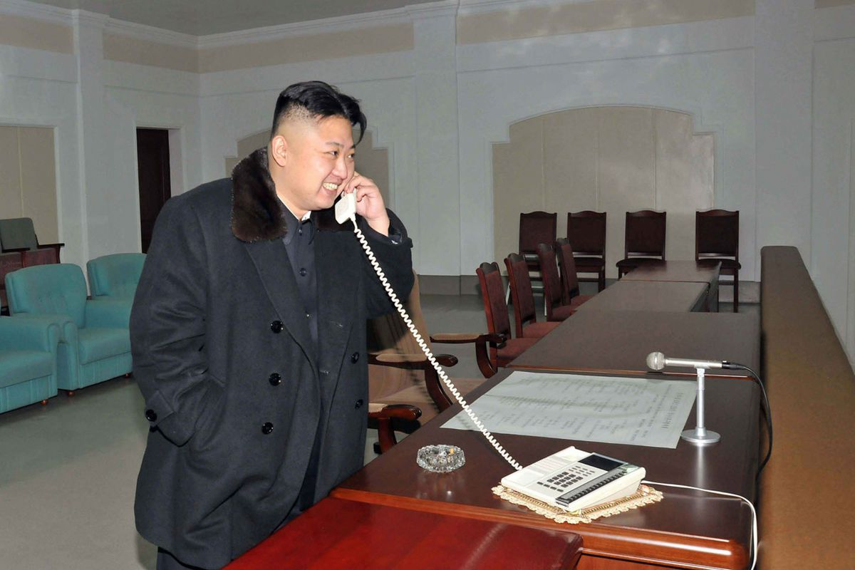 """""""Hello, China? This is Kim Jong Un. I'm referring your UNSC sanctions to BOFA."""""""