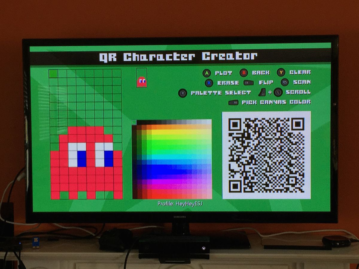 One the many #IDARB characters I've created, Blinky from Pac-Man