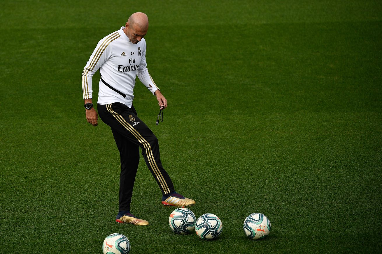 """Six months after his his return to Real Madrid, is Zinedine Zidane now wondering if he made the right decision"""""""