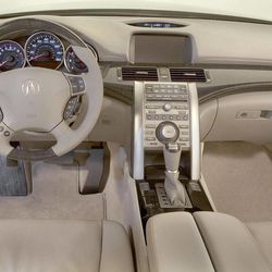 This undated publicity photo provided by America Honda Motor Co., Inc. shows the interior of a 2012 Acura RL sedan.
