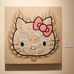 """""""Hello Kitty Fanatic"""" by Junko Mizuno (2014)."""