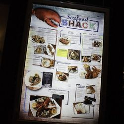 Some of the seafaring fare at Seafood Shack.