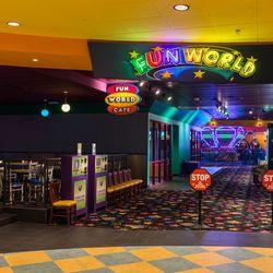 The entrance to Fun World