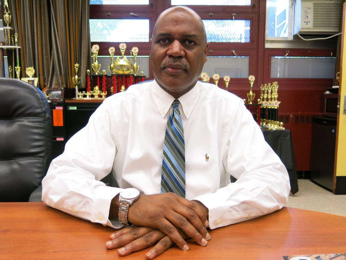 """Gassaway said his school needs a well-thought-out improvement plan from the city, but """"that's the one thing that's absent."""""""