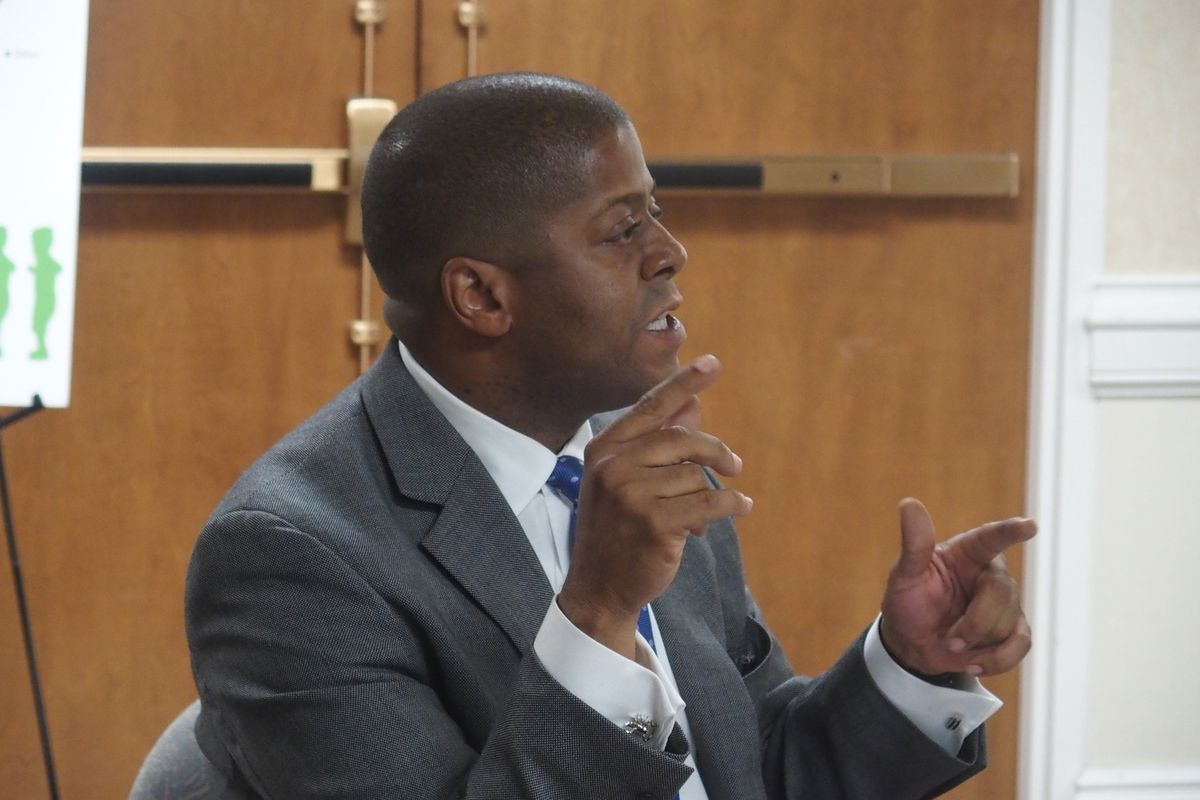 Brian Stockton, chief of staff for Shelby County Schools Superintendent Dorsey Hopson