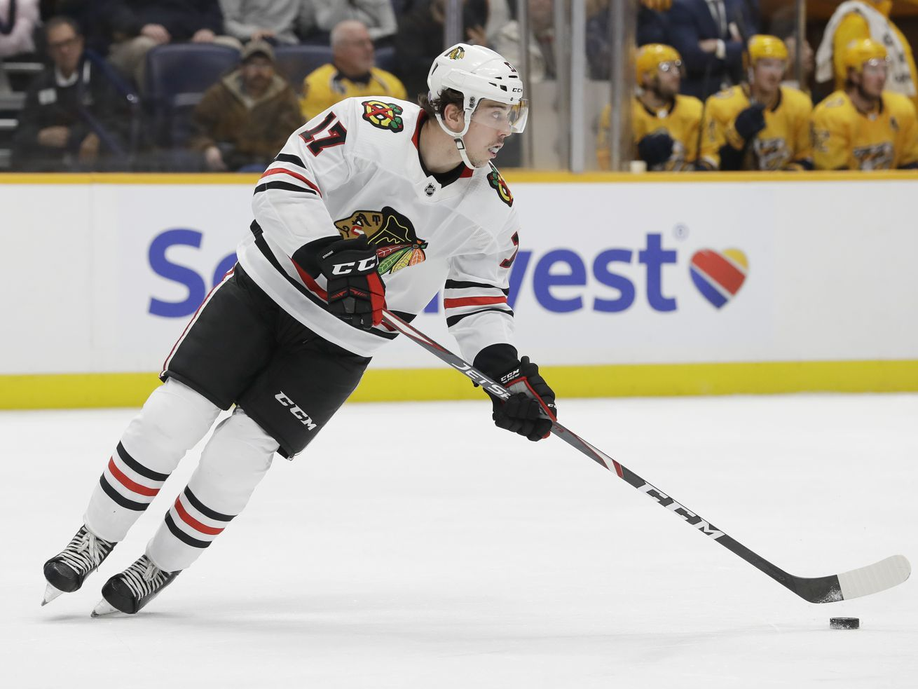 Dylan Strome, a restricted free agent, faces crucial moment in his Blackhawks tenure