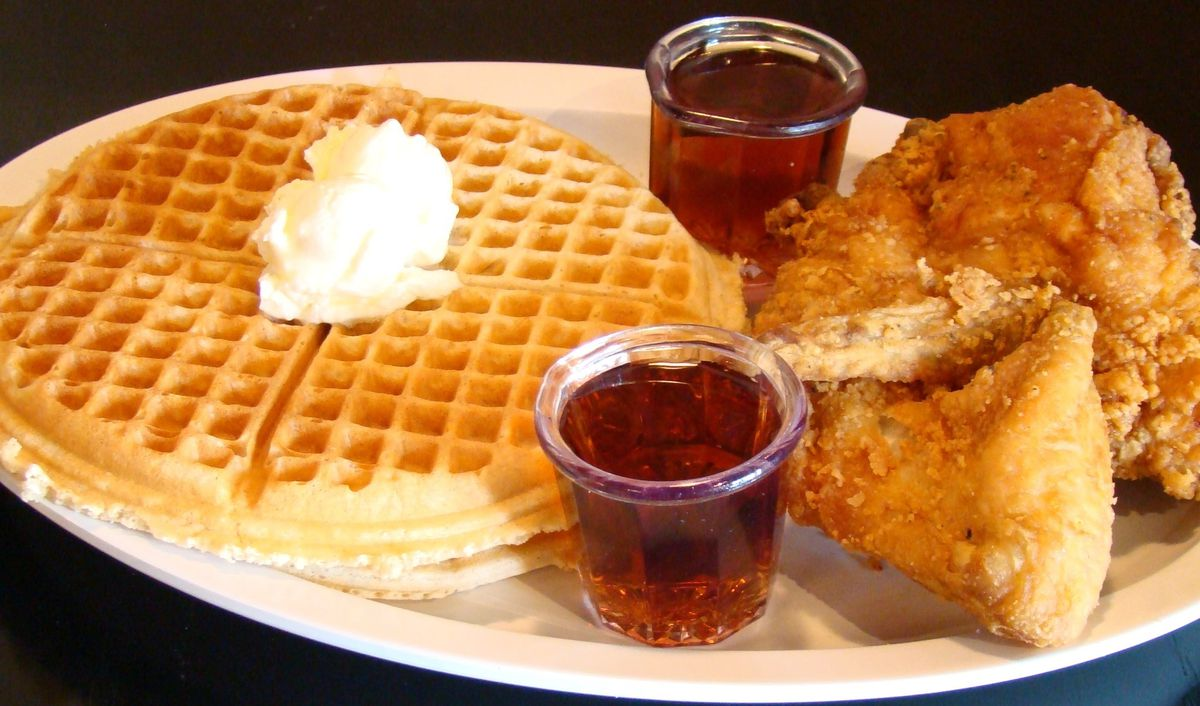 The specialty of the house at Chicago's Home of Chicken and Waffles in Bronzeville. / Ji Suk Yi/Sun-Times