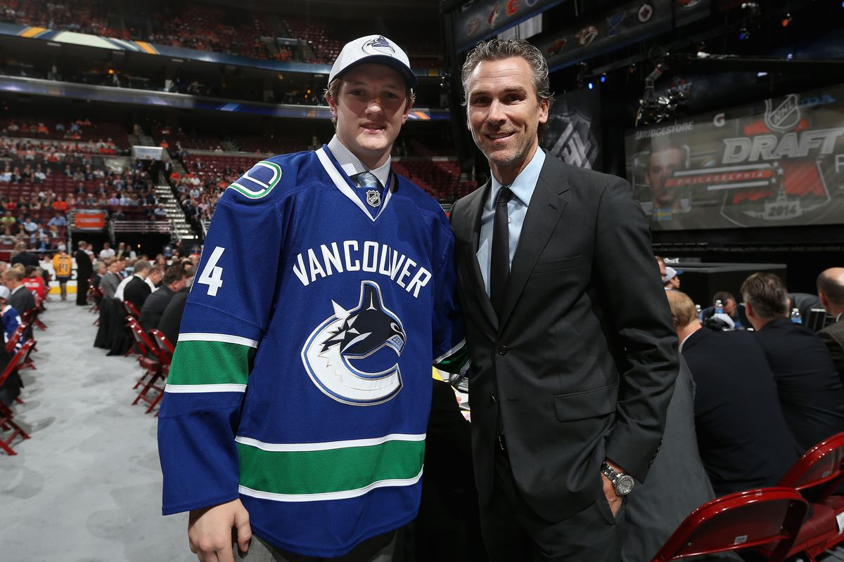 Boston College goalie Thatcher Demko was selected in the 2nd round by Vancouver.