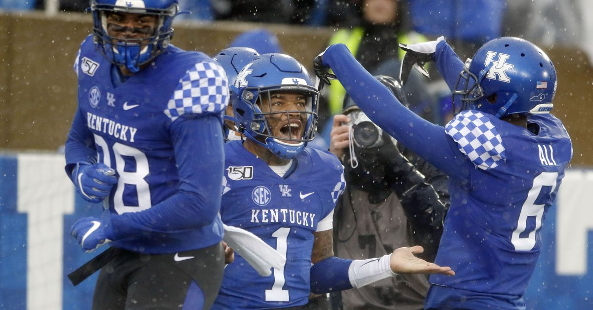Which weeks of the season does Kentucky most often win and ...