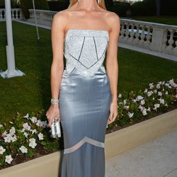 Rosie Huntington-Whiteley in Galvan for Opening Ceremony with a Swarovski crystal corset