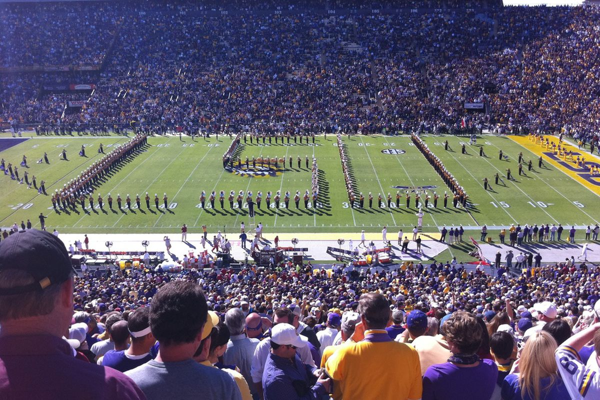 Why can't we go to LSU games every weekend?