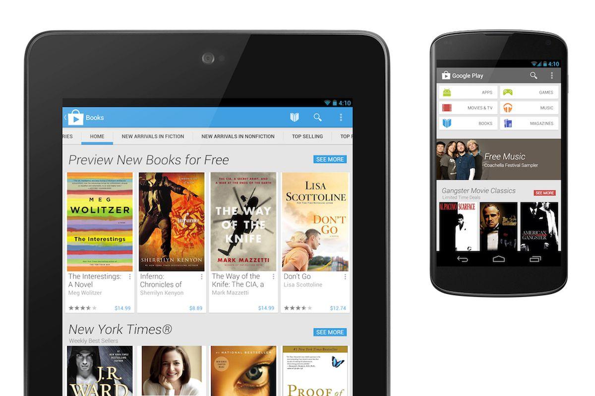EMBARGO 4/9/13 google play store redesign