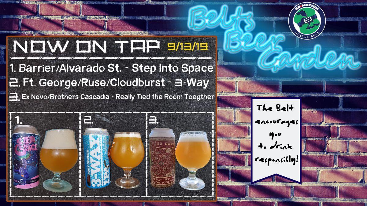 Belt's Beer Garden: Birthday Brews