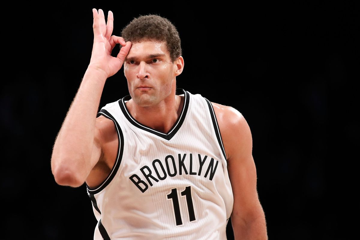 quite nice 3b879 33d60 Brook Lopez, the Nets' all-time leading scorer, has been the ...