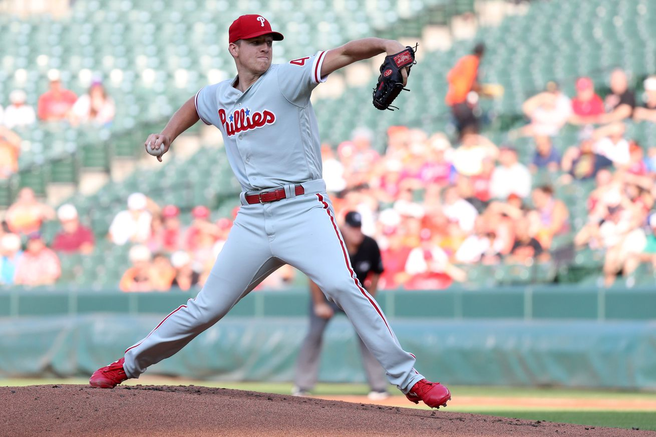Nick Pivetta delivered a strong start to solidify his standing in the rotation