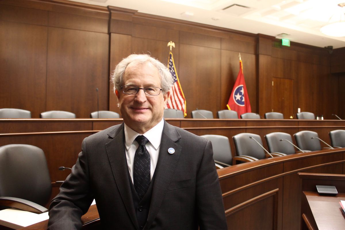 Rep. Mark White shepherded Gov. Bill Lee's charter school bill through the House Education Committee on Wednesday. The Memphis Republican also chairs the panel.