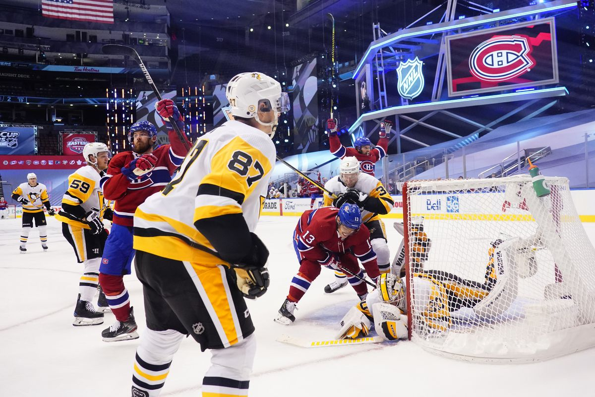 Pittsburgh Penguins v Montreal Canadiens - Game Three