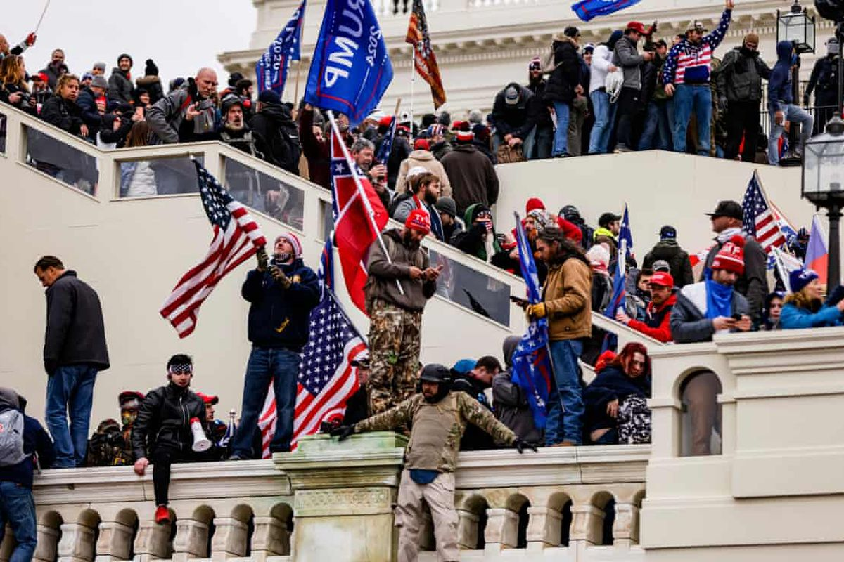 Capitol rioters