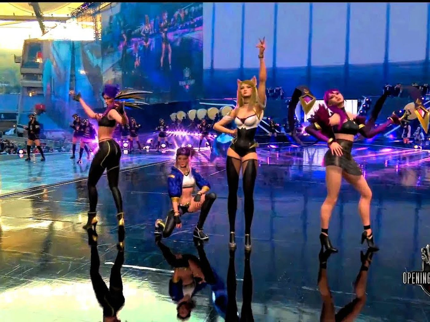 The League Of Legends World Championship Opened With An Ar K Pop