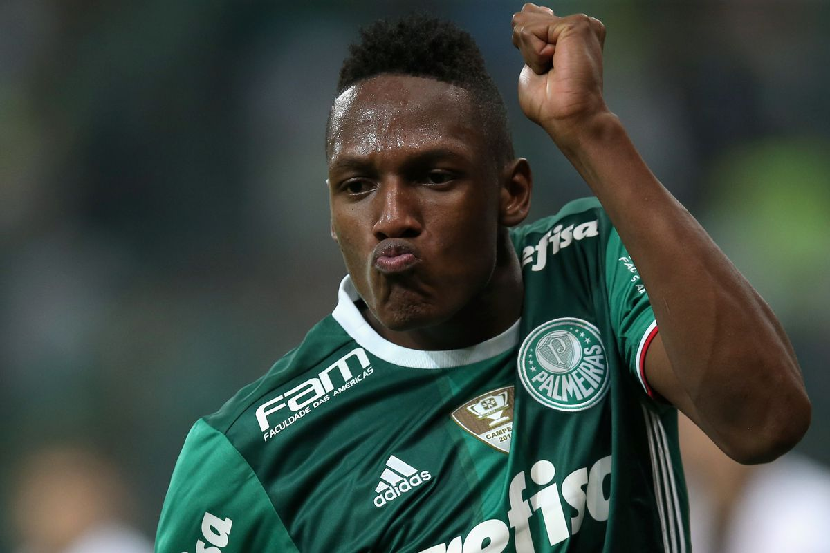 Transfer rumor fc barcelona target colombian yerry mina barca photo by friedemann vogelgetty images stopboris Gallery