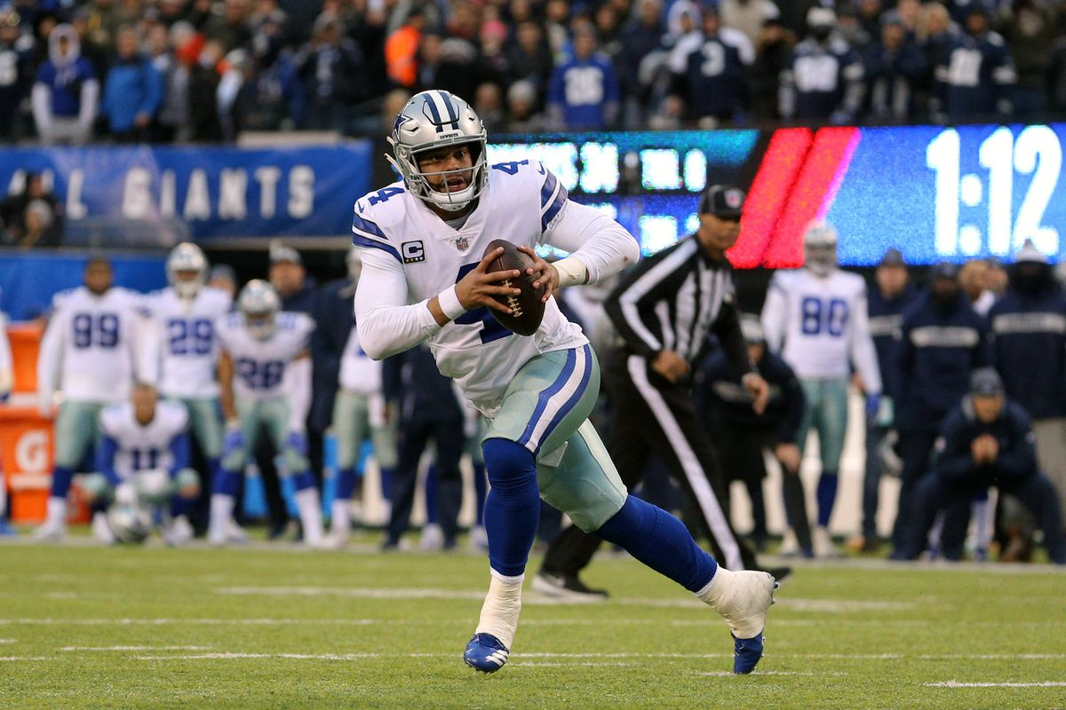 4a725376eff Cowboys quarterback Dak Prescott has put together quite the résumé in his  first three NFL seasons