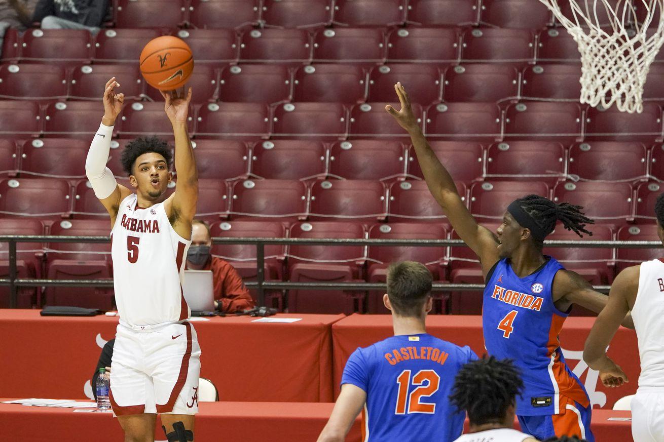 NCAA Basketball: Florida at Alabama