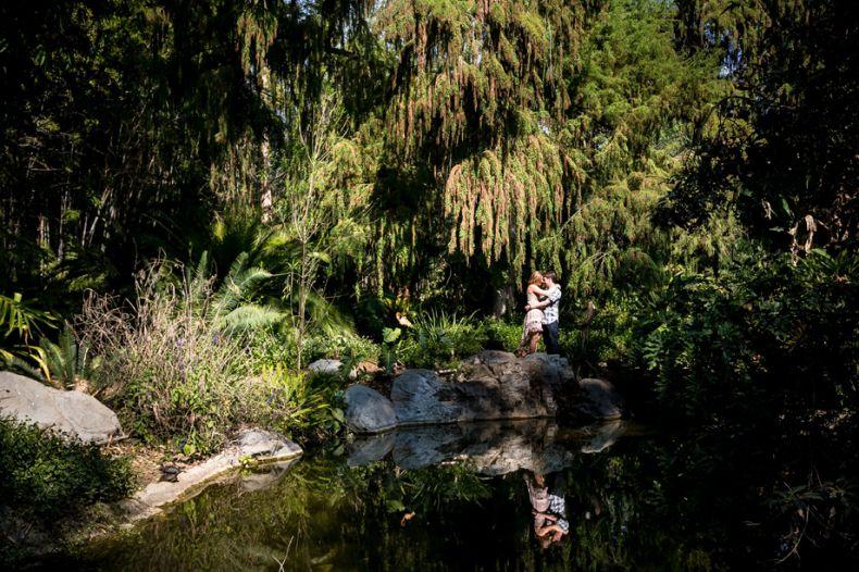 LA Arboretum and Botanic Garden Engagement Photo