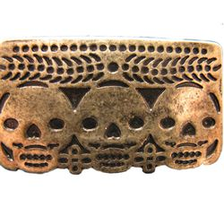 Pamela Love Day of the Dead gold ring (was $80, now $40)
