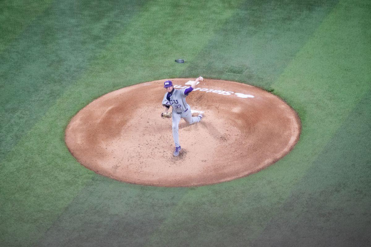 TCU Baseball vs Mississippi State | February 21, 2021 | Globe Life Field
