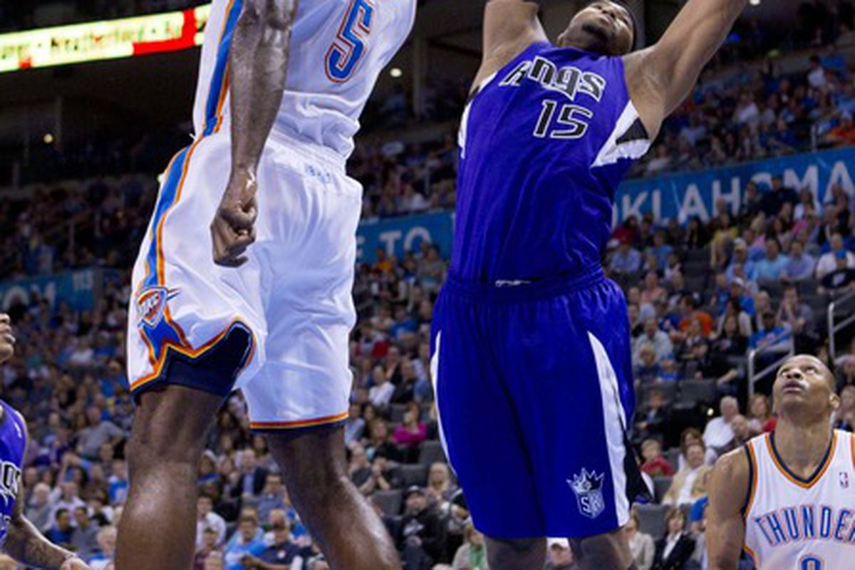 Is it just me, or did Perkins slap Cousins in the face?